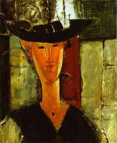 madam pompadour portrait of beatrice hastings 1915 XX art institute of chicago chicago il usa